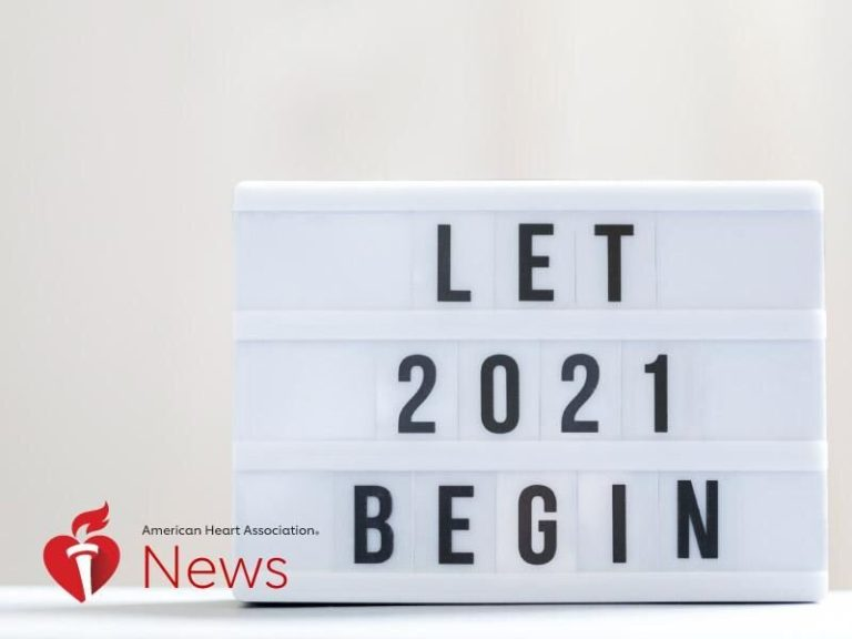 Here is to a wholesome 2021, with resolutions from coronary heart docs