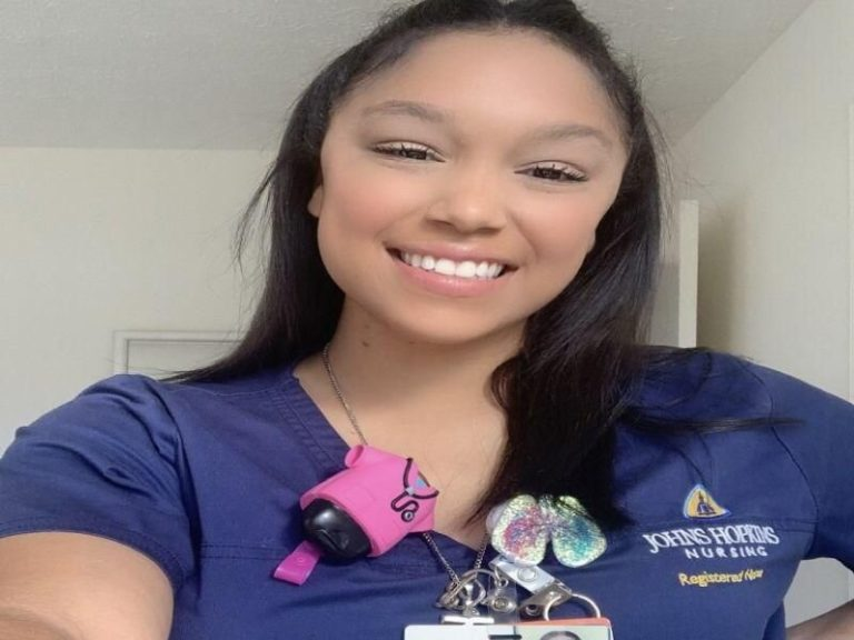 as soon as a lung transplant recipient, now a surgical nurse