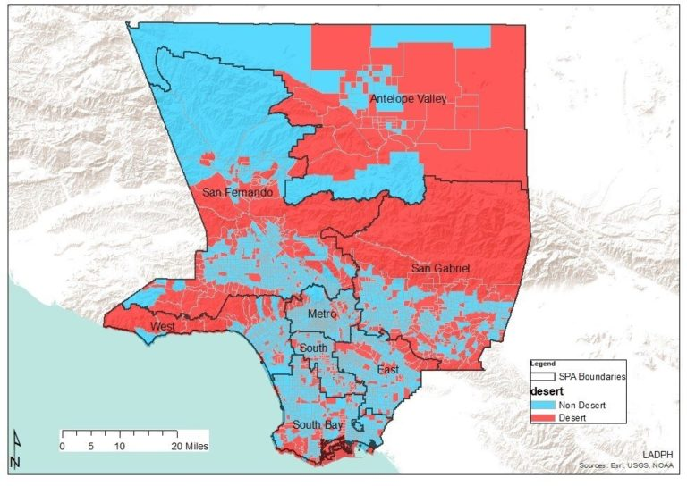 Research first to hyperlink disparities and 'pharmacy deserts' in California